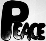 black-and-white-peace