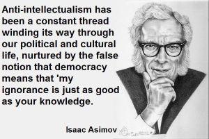 anti intellectualism