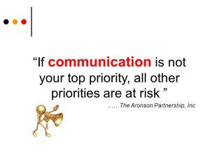 priorities at risk