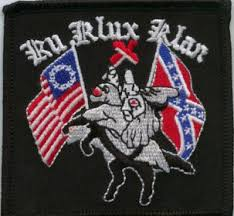 klan symbol with conf flag