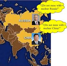 russia and china nucleaar powers
