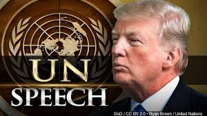 Trump speaks to UN