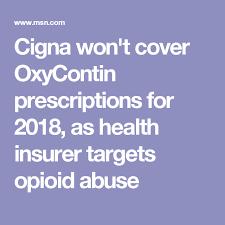 cigna mo opioids